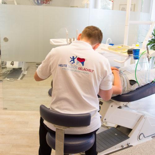 Unsere Patienten verlassen die kieferorthopädische Praxis stets mit einem guten Gefühl.
