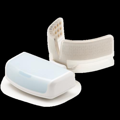 Das Infrarotlichtgerät von OrthoPulse® ist klein und effektiv.