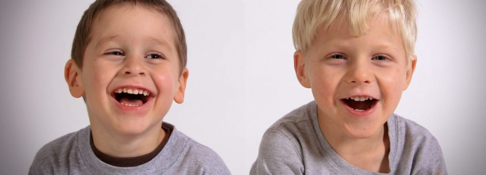 Kieferorthopädische Frühbehandlung bei Kindern.