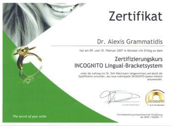 2007 | zertifizierter Partner von Incognito