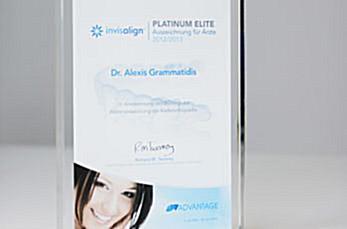 2012/13 | Invisalign Platinum Elite Praxis