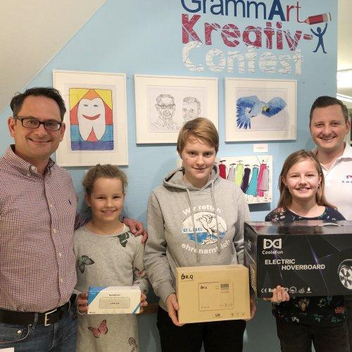 GrammArt Contest - Kunstwettbewerb unserer Kieferorthopäden in Kirchheim