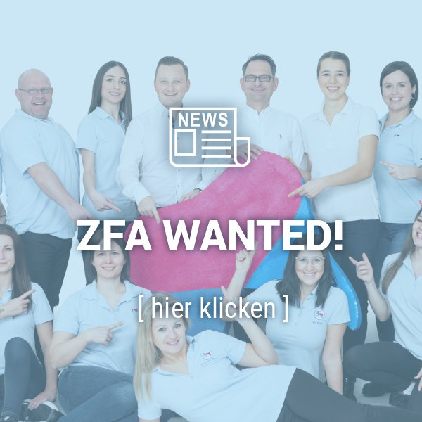 Kieferorthopäde in Kirchheim sucht ZFA